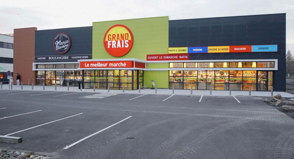 Votre magasin grand frais laval plan horaires et promotions - Supermarche ouvert dimanche rennes ...