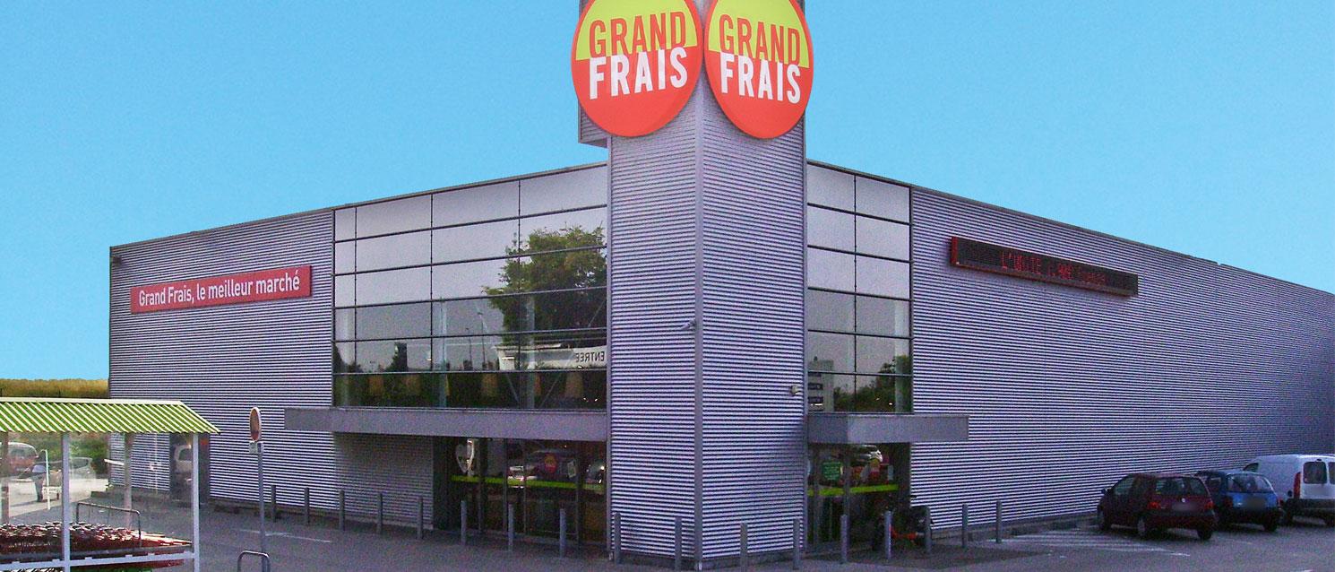 Votre magasin grand frais st parres aux tertres plan - Piscine fresnes horaires ...