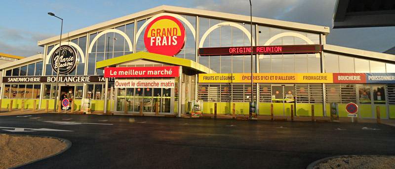 Votre magasin grand frais niort plan horaires et promotions for Horaire 3d cuisine niort