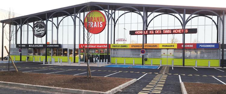 Votre magasin GRAND FRAIS Les ClayessousBois plan, horaires et
