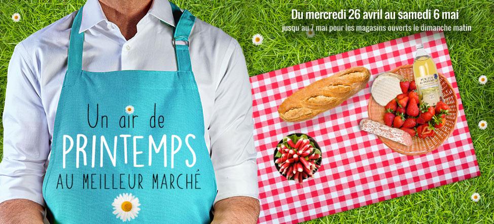March frais produits frais et produits de saison grand frais - Magasin ouvert dimanche 7 mai ...