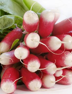 Radis rose fanes de radis conseil et prix grand frais - Radis rose de chine ...