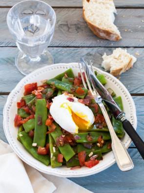 recette salade de haricots coco plat pour 4 personnes grand frais. Black Bedroom Furniture Sets. Home Design Ideas