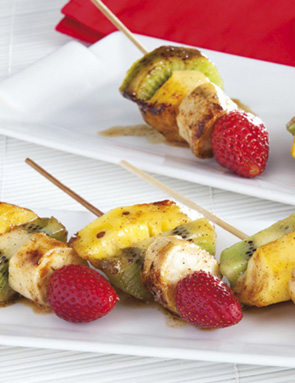Brochettes paradis de fruits