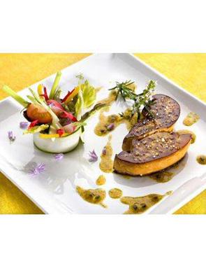 recette foie gras et son velout d 39 artichaut pour 6 personnes grand frais. Black Bedroom Furniture Sets. Home Design Ideas