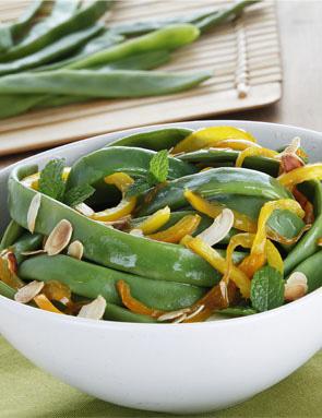 recette salade de haricots coco aux poivrons et pignons pour 4 personnes grand frais. Black Bedroom Furniture Sets. Home Design Ideas