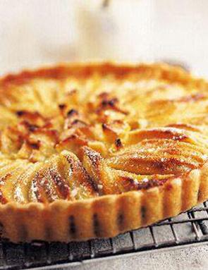 recette tarte aux pommes a l 39 alsacienne pour 4 6 personnes grand frais. Black Bedroom Furniture Sets. Home Design Ideas