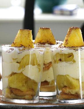 recette tiramisu a l'ananas